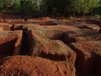 Excavations for foundation of the phase 2 buildings